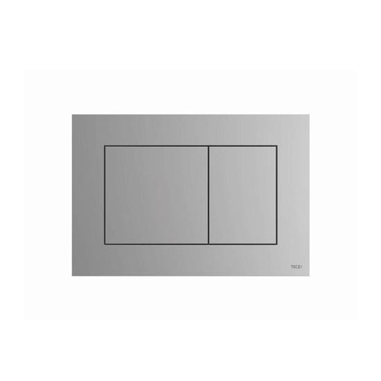 Obrazek TECEnow - przycisk spłukujący do WC z tworzywa, chrom matowy