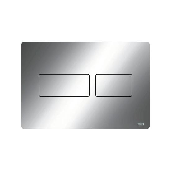 Obrazek TECEsolid - przycisk spłukujący do WC z metalu, chrom połysk
