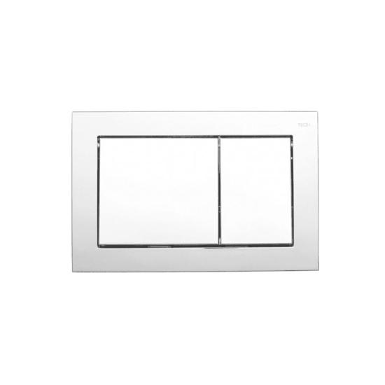 Obrazek TECEbase - przycisk spłukujący do WC z tworzywa, chrom połysk