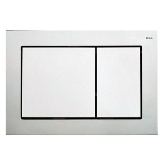 Obrazek TECEbase - przycisk spłukujący do WC z tworzywa, chrom matowy
