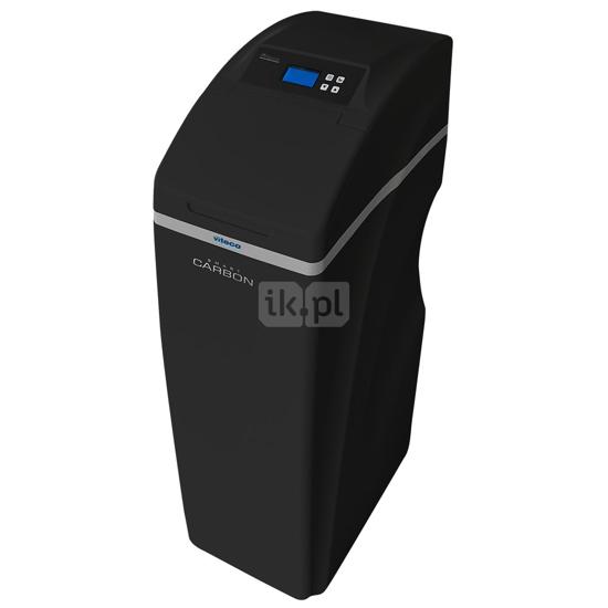 Obrazek Kompaktowe urządzenie do zmiękczania wody ze złożem węgla aktywnego Viteco SMART CARBON 30L z kompletnym zestawem filtracji wstępnej i zestawem do mierzenia twardości wody