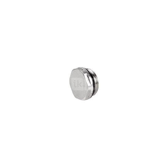 Obrazek 4216 G1/2 Z PN10 Korek zaślepiający z o-ringiem do grzejników