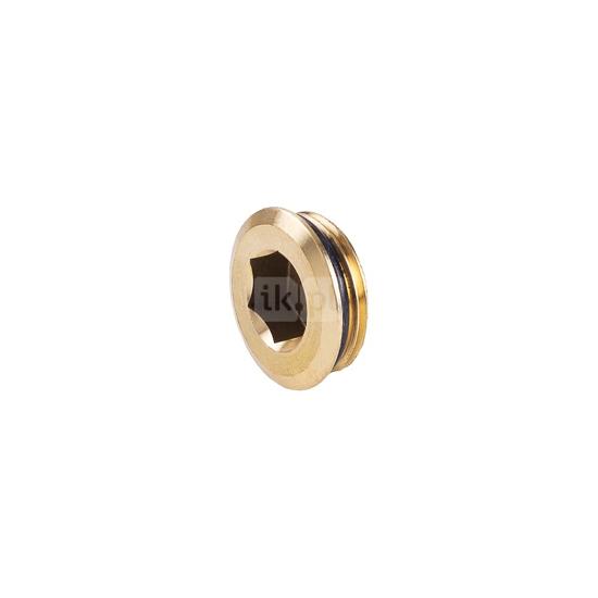 Obrazek 749 GZ G1 Korek zamykający do belki rozdzielacza mosiężnego z o-ringiem