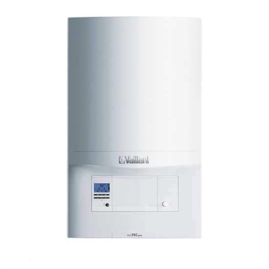 Obrazek Kocioł gazowy kondensacyjny VCW eco TEC pro 236/5  2 - funkcyjny