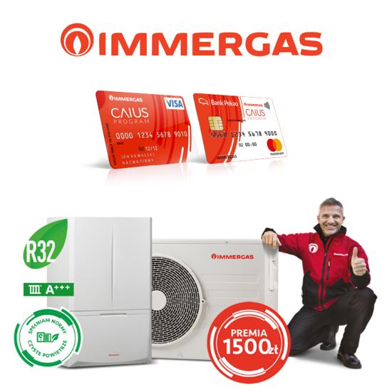 Obrazek Dodatkowe bonusy w programie Immergas CAIUS
